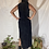 Thumbnail: VINTAGE 70's | 80's Anne Klein | Saks Black Leather Dress
