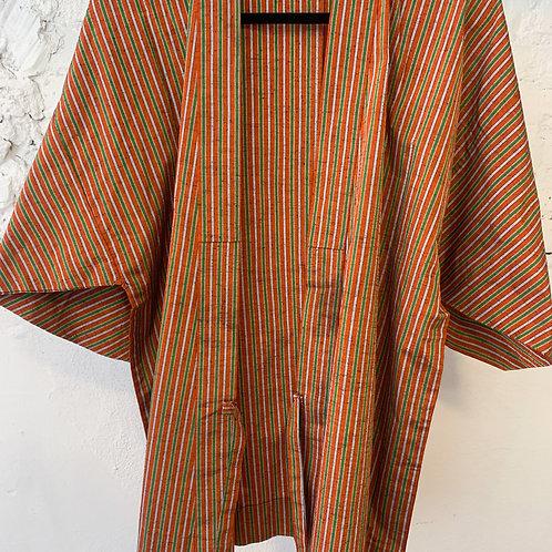 50's | 60's Silk Handmade Japanese Kimono