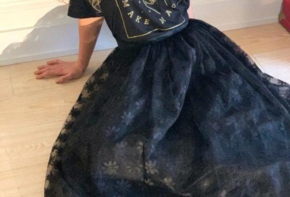 20's Victorian Handmade Lace Skirt