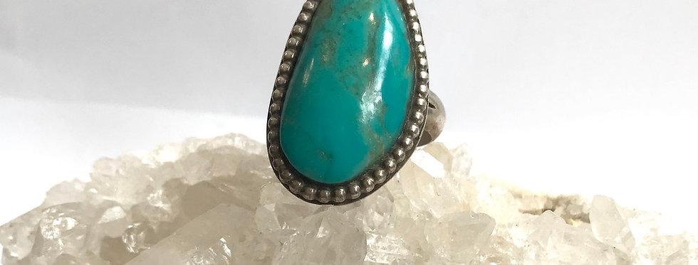 Vintage Beaded Turquoise