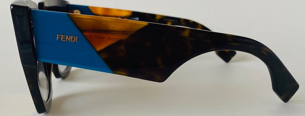 FENDI Tortoise  Shell & Blue