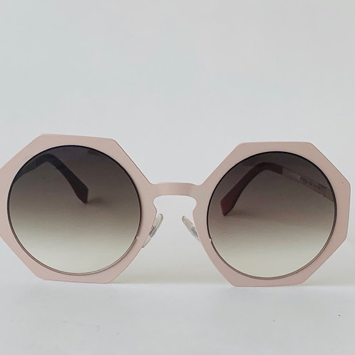 FENDI Pink Octagonal