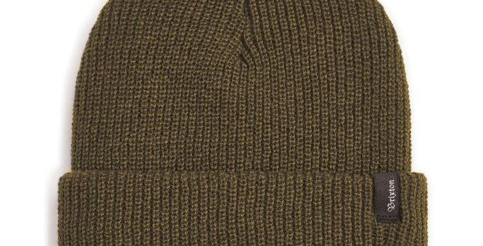 BRIXTON Heist Beanie | Olive Green