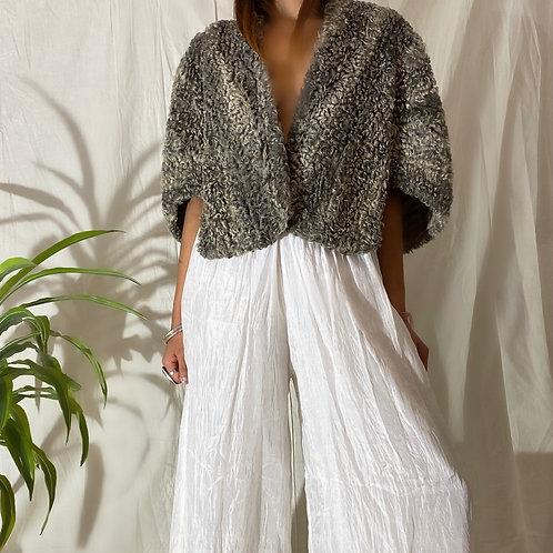 60's | 70's Silk Handmade Layers Pant
