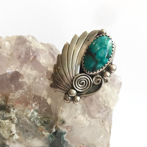 Navajo Feather Ring