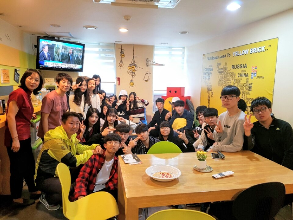 2017 SCHOOL TRIP FROM  MANDEOK HIGH