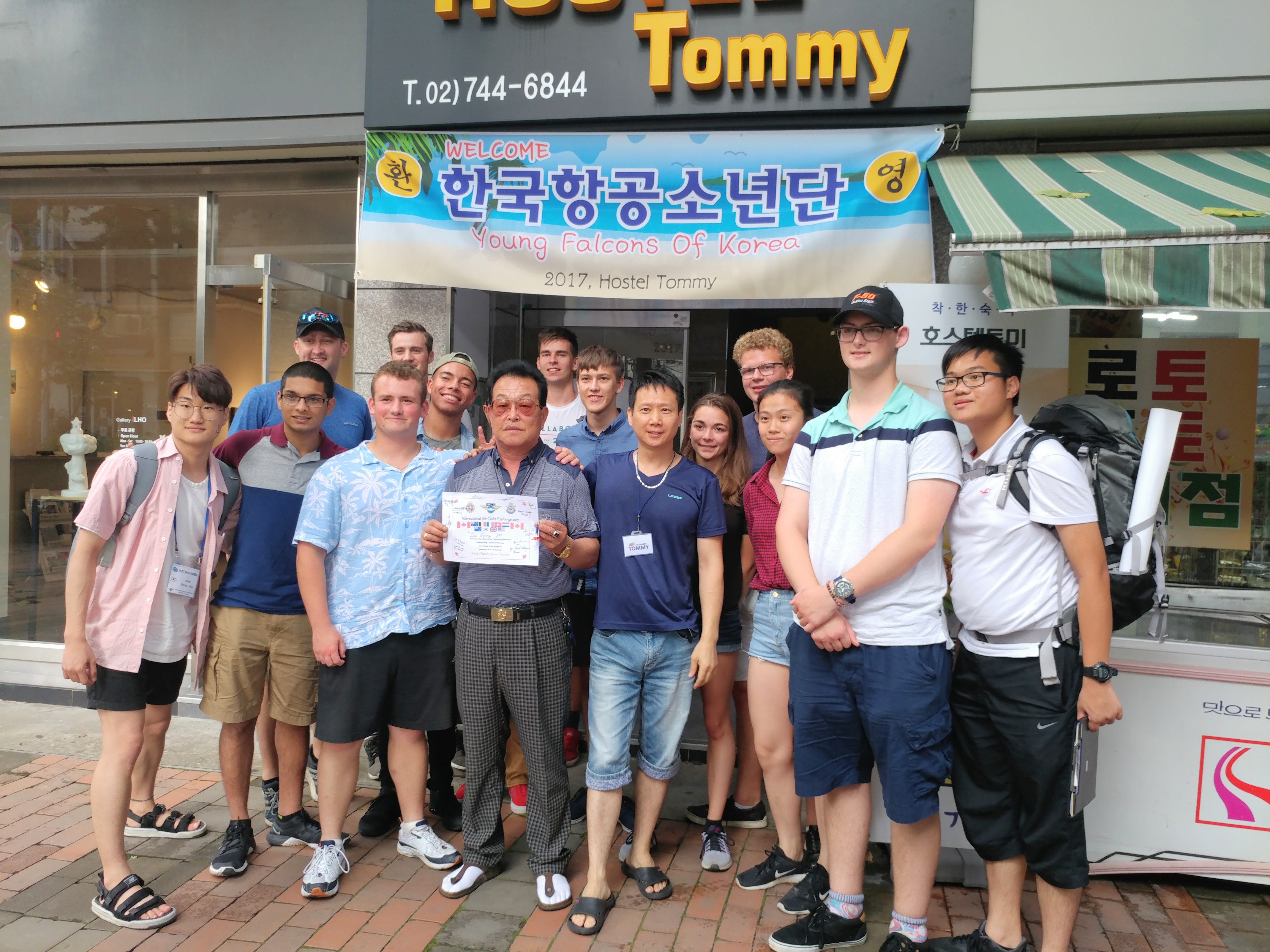 YOUNG FALCONS OF KOREA