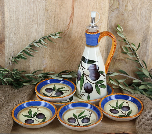 6 Piece Olive Oil Dipping Set
