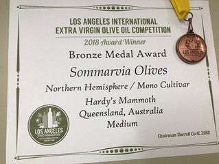 Our Award winning olive oil