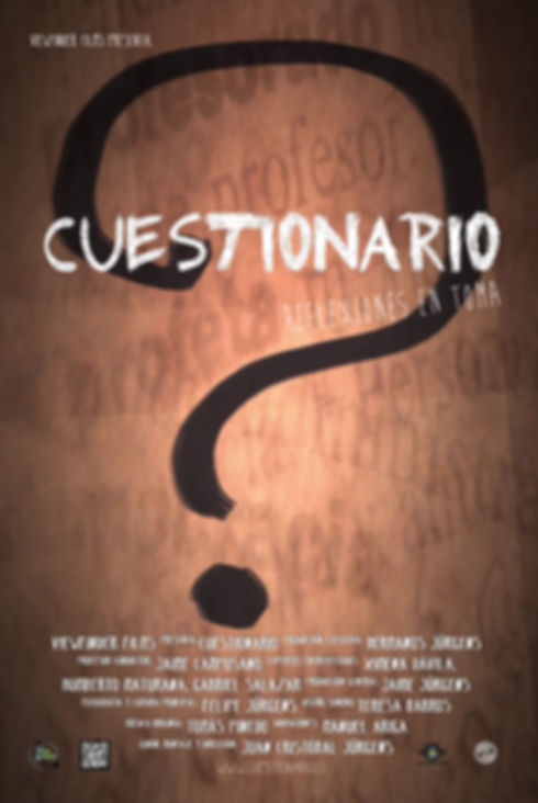 Afiche documental Cuestionario