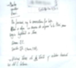 nota de rodaje documental custionario