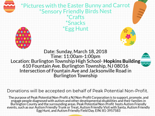2nd Annual Autism Friendly Egg Hunt
