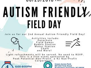 Autism Friendly Field Day