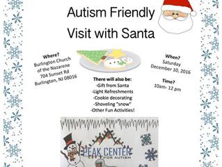 Autism Friendly Visit With Santa