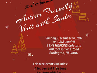 2nd Annual Autism Friendly Visit with Santa
