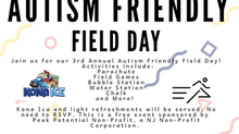 3rd Annual Autism Friendly Field Day