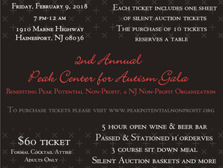 You're invited to the 2nd Annual Peak Center for Autism Gala