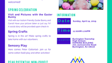 3rd Annual Autism Friendly Egg Hunt and Spring Celebration