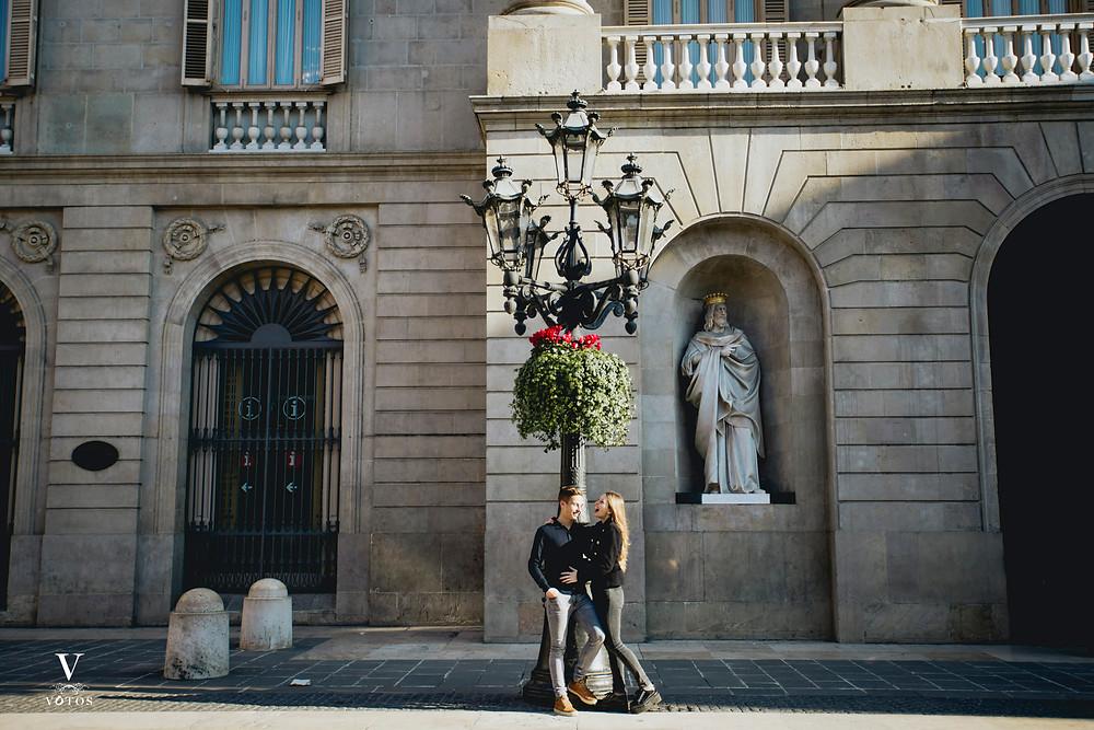 boda en plaza sant jaume barcelona