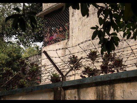 Opfer hinter Gittern