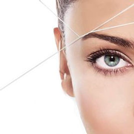 Eyebrows Threading. Santa Monica Beauty and Hair Salon