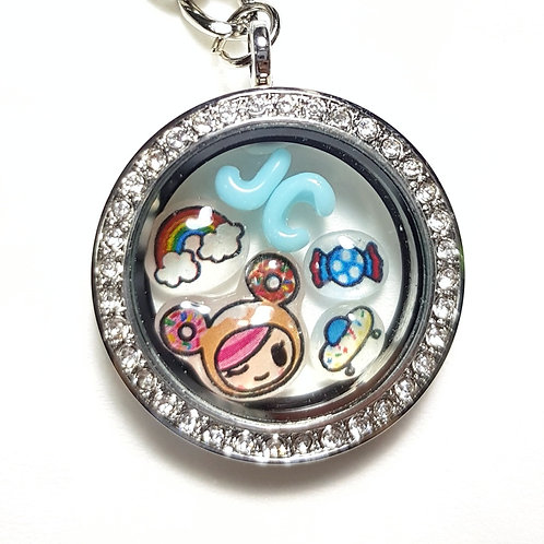 Floating Breastmilk Tokidoki & Initials Charms