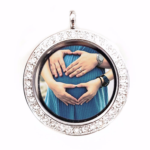 Photo (only) Glass Locket