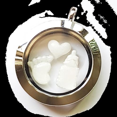 Floating Breastmilk Charms