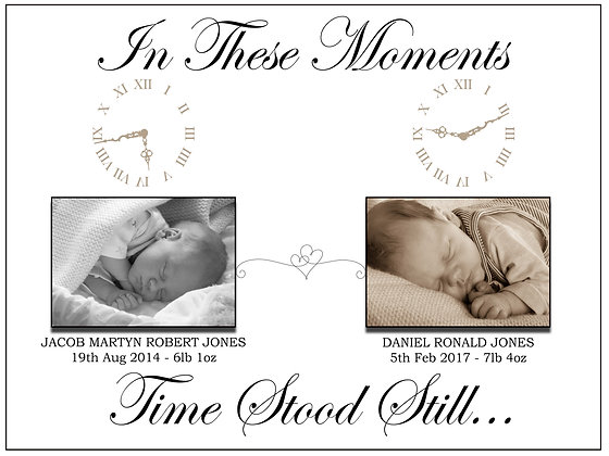 Time Stood Still -Electronic Image