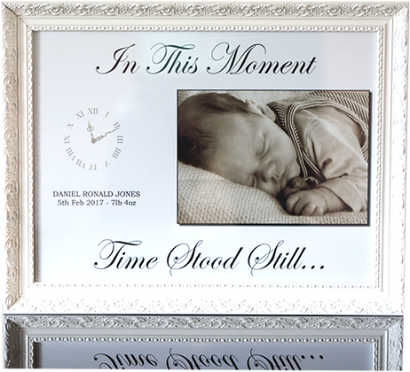 Time Stood Still - Print, Mounted & Framed Image
