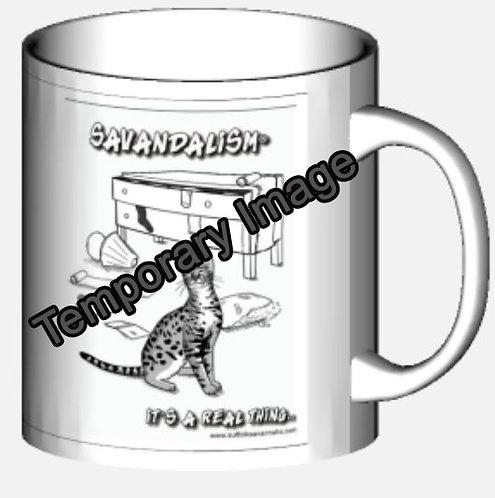Savandalism Luxury Mug