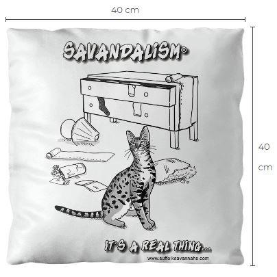 Savandalism Luxury Cushion