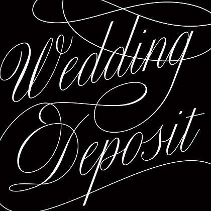 Lisa Wedding Deposit