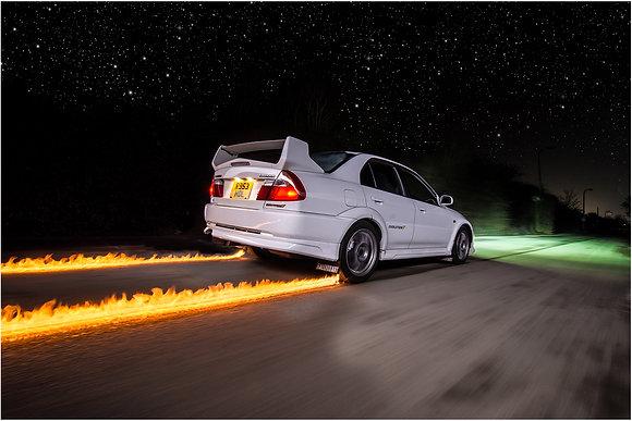 Fire Car Photoshoot