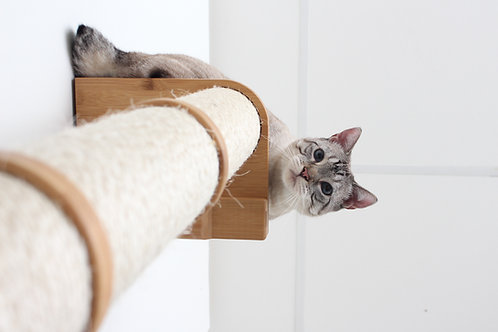 Floating Cat Scratch Post - Catastrophic Creations
