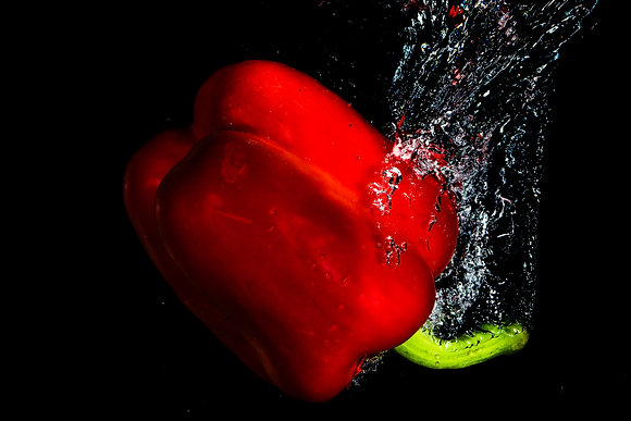 Red Pepper Splash 1 800DPI Gloss Print