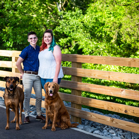 Summer Stones River Greenway Couple's Session | Nashville Engagement Photographer