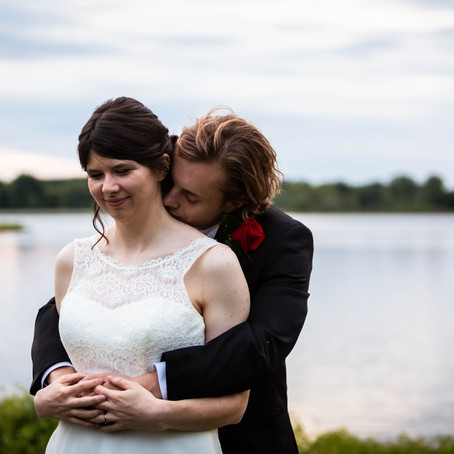 Summer Waterfront Stony Creek Wedding | Michigan Wedding Photographer