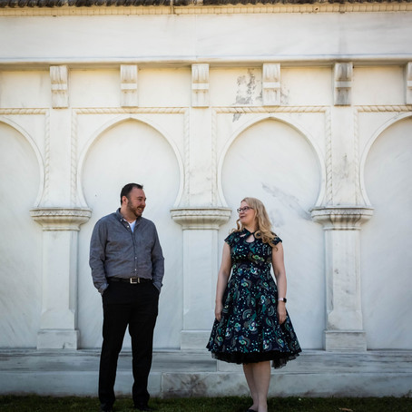 Unique Mt. Olivet Cemetery Engagement Session | Nashville Engagement Photographer