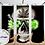 Thumbnail: 420-004 Skeleton Weed Head - 20oz Skinny Tumbler