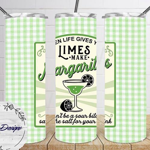 027 Limes Margarita - 20oz Skinny Tumbler