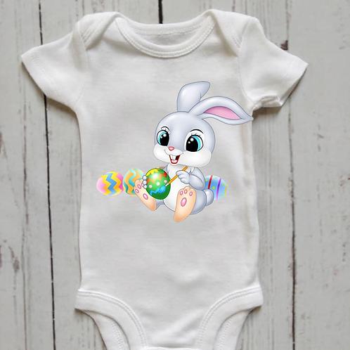 Easter Bunny Baby Onesie