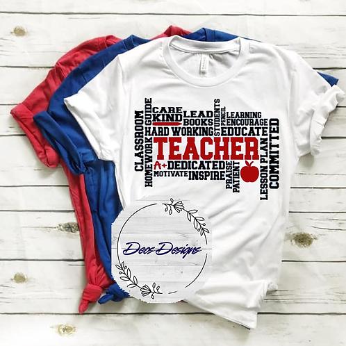 034 Teacher TShirt