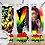 Thumbnail: 420-003 Peace Love Smoke - 20oz Skinny Tumbler