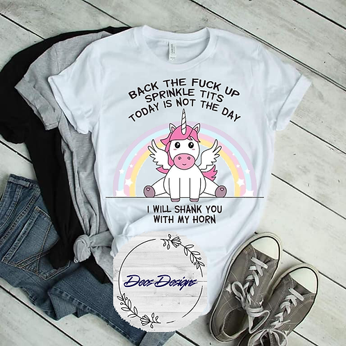 Back The Fuck Up TShirt