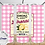 Thumbnail: 026 Lemon Pink Lemonade - 20oz Skinny Tumbler