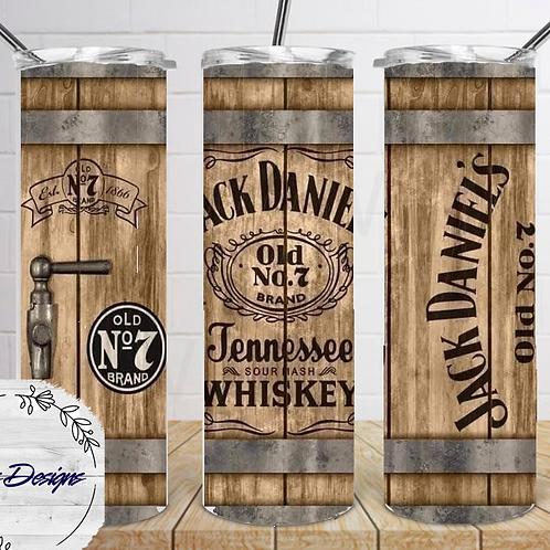 016 Jack Daniels Whiskey2 - 20oz Skinny Tumbler