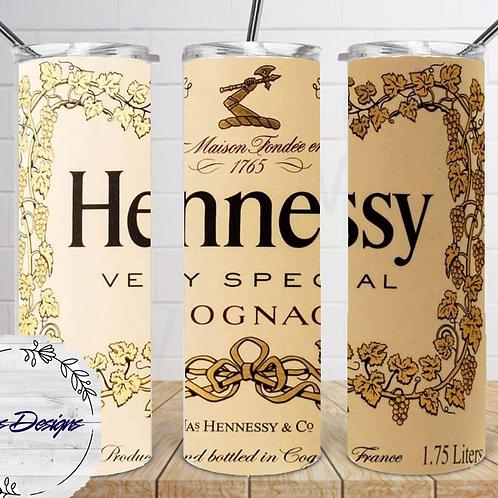 013 Hennessy - 20oz Skinny Tumbler