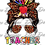 Thumbnail: 022 Messy Bun Teacher Life TShirt