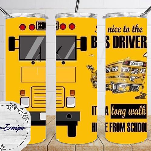042 Bus Driver - 20oz Skinny Tumbler
